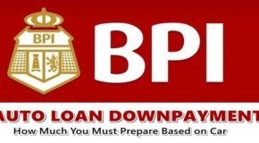 BPI Auto Loan Downpayment – How Much You Must Prepare Based on Car