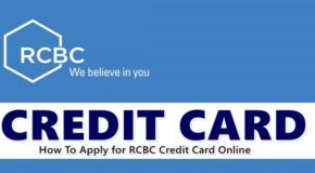 Apply RCBC Credit Card – How To Apply for RCBC Credit Card Online