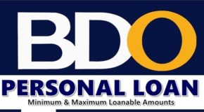 BDO PERSONAL LOAN – Minimum & Maximum Loanable Amounts Under It