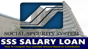 SSS Salary Loan – How To Compute Your Loanable Amount Based on Contribution