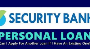 Security Bank Personal Loan – Can I Apply For Another Loan If I Have An Existing One?
