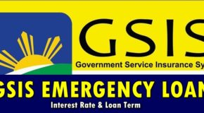 GSIS Emergency Loan Interest Rate & Loan Term Available