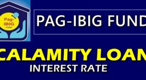 Pag-IBIG Calamity Loan Interest Rate Per Annum