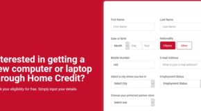 Home Credit Computer Loan – How To Check Online If You're Qualified To Apply