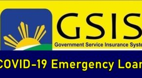 GSIS COVID-19 Emergency Loan Open for Application Again