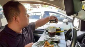 Restaurant in Bacolod City Offers In-Car Dining amid Pandemic Crisis